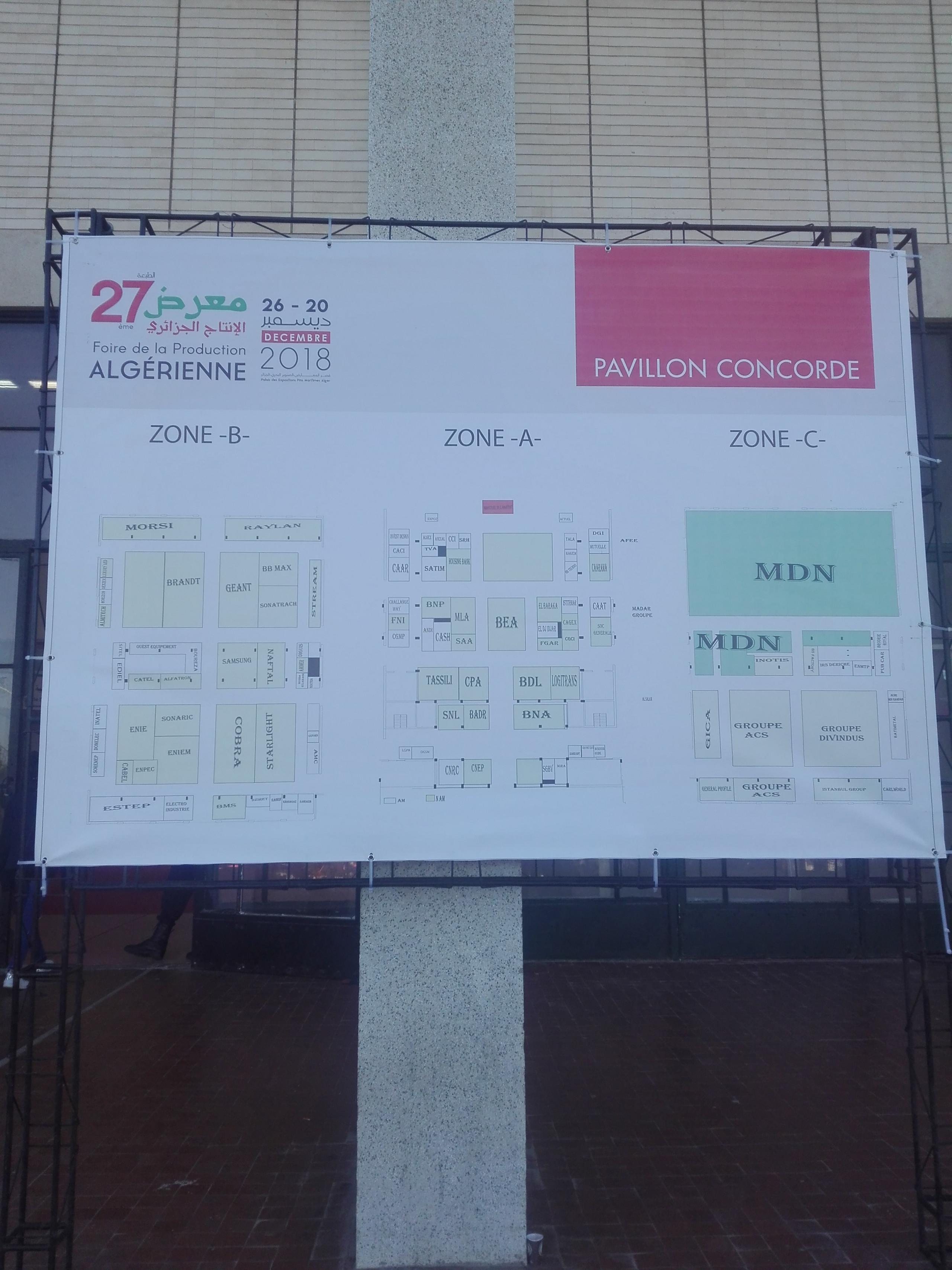 Foire de la Production Algérienne 2018
